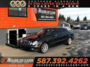 2009 Mercedes-Benz E-Class E300 / Navi / Heated seats / AWD