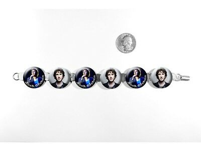 "Josh Groban Singer Polar Express 'Believe' 8"" Bracelet w/Fold-Over Clasp"