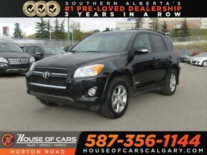2012 Toyota RAV4 Limited/ Leather Heated Seats/ 2 Sets of Tires!
