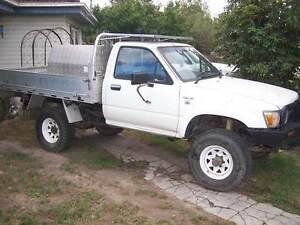 Toyota Hilux Ute 4x4 dual fuel alloy tray water tank Bairnsdale East Gippsland Preview
