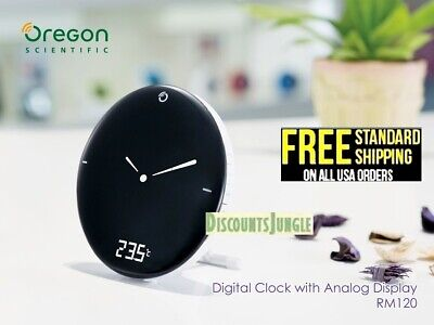 Oregon Scientific RM120A Radio Control Time & Weather Digital Alarm Clock,,NEW,,
