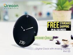 Oregon Scientific RM120A Radio Control Time & Weather Digital Alarm Clock,,NEW,,