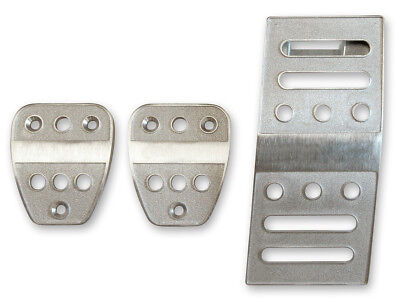 2005-2019 Ford Mustang M/T billet aluminum clutch brake & gas pedal trim - Mustang Pedal Covers