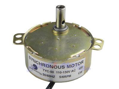 Tyc-50 Small Ac Synchronous Motor 110v Electric Motor 56rpm Cw Torque 4kg.cm