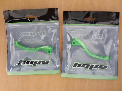 Hope Green Team Tech 3 Lever Blades Pair [RARE]