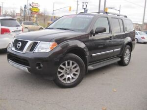 2012 NISSAN PATHFINDER LE SILVER EDITION | Leather