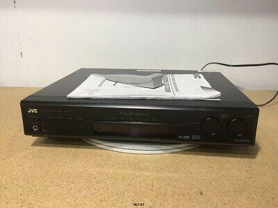 JVC Audio/Video Receiver RX-D206B (Bundled w/ Remote & Owners -