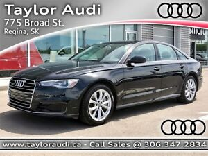 2016 Audi A6 2.0T Progressiv COMPANY DEMO, LEATHER, BI-XENON...