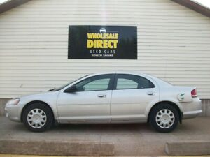 2003 Chrysler Sebring V6 SEDAN with AIR, CRUISE, AUTO and MORE!