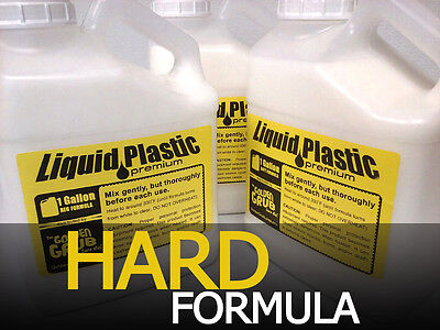 NEW 1 GALLON Premium HARD LIQUID PLASTIC for making fishing worms bait plastisol