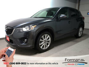 2015 Mazda CX-5 GT|Rmt Start|Htd Leather|Unlimited Warranty|Came