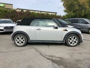 2013 Mini Convertible cooper convertible automatic leatherette b