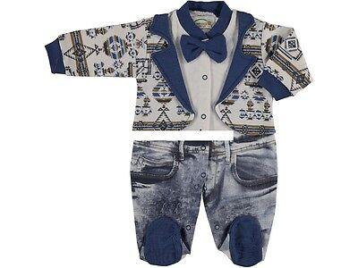 NEU ♥ Strampler Overall Baby Schlafanzug Gr.56, 62