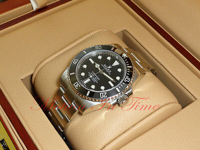 Rolex Submariner No Date Black Dial Ceramic Bezel Stainless Steel 40mm 114060