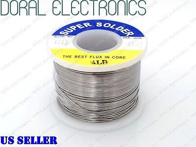 0.6mm 0.5 Lb 226g 6040 Rosin Core Flux Tin Lead Roll Soldering Solder Wire 12