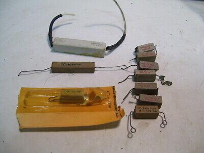 10pcs 0.47-3k Ohm Mixed Lot Ceramic Resistors 5-25w P3645