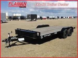 Southland 16' Flat Deck Car Hauler Trailer