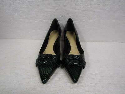 Alexandre Birman Women's US 7/IT 37 Pumps Black/Green