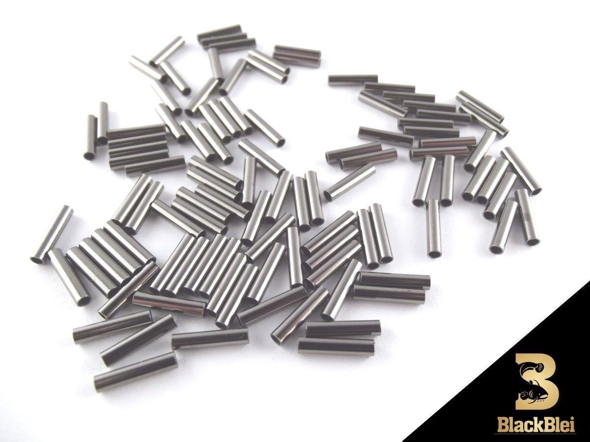 Behr Klemmhülsen Sortimentsbox 210 Stück Quetschhülsen Messing Stahlvorfach