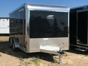 2018 ATC QSTAB7514 Enclosed Cargo Trailer