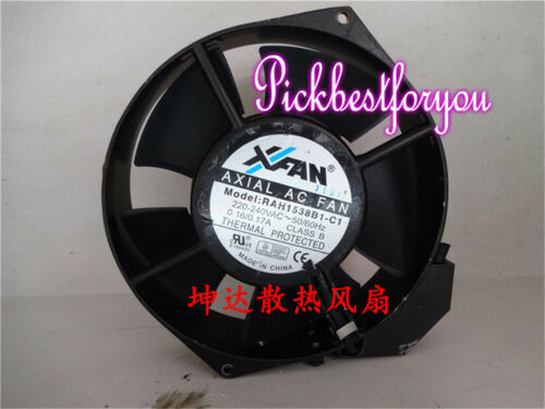 1pc for AXIA AC RAH1538B1-C 220-240V 150*38mm cooling fan 90 warranty #Mx94 QL
