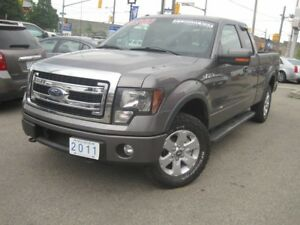 2011 FORD F-150 FX4 |Leather • 4X4 • 5.0L •EXT Cab
