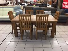 BRAND NEW - WOOLSHED DINING SET (7 PIECES) - SOLID TIMBER Brisbane City Brisbane North West Preview