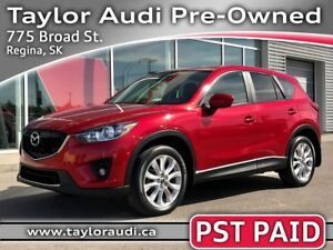 2014 Mazda CX-5 GT PST PAID, LOCAL TRADE, TECHNOLOGY PKG