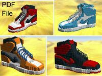 SU-SNK-AJ1-RD 1//12 handmade Red//White AJ1 sneaker for TBLeague TM01A TM02A body