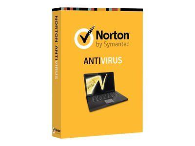 Norton AntiVirus 2017 2018 3 Users PCs User PC 1 Year Product Key Card No CD