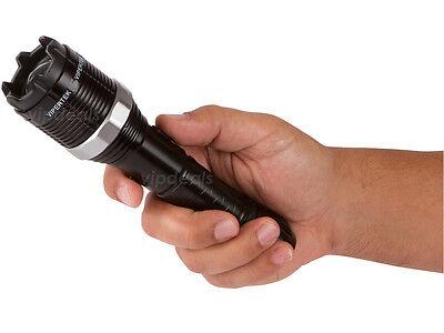 Купить VIPERTEK VTS-T01 Metal 23 BV Stun Gun Rechargeable LED Flashlight + Taser Case