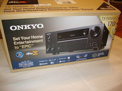 Onkyo TX-NR656 7.2 Channel Network A/V Receiver w/ Wi-Fi and Bluetooth