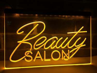 Beauty Salon Open Sign Business Led Light Display