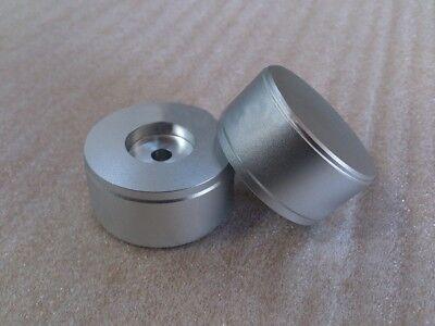 1 Pcs Aluminum Matte Silver 4422 Dacamplifier Solid Volume Potentiometer Knob