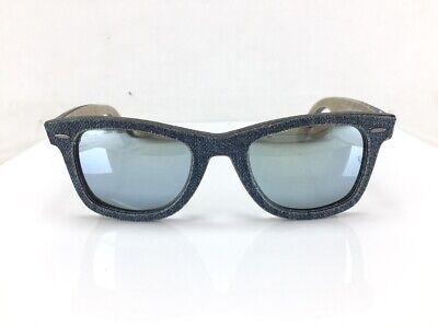 RAY-BAN DENIM WAYFAYER SUNGLASSES RB2140 1194/30 52-22 3N (Wayfayer Sunglasses)