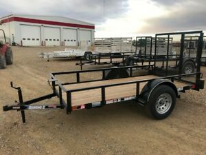 2017 Diamond C RSA510 Utility Trailer