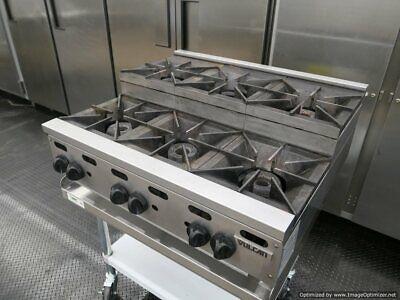 2015 Vulcan Vhp636u Gas 36 6 Burner Step Up Cooking Range Kitchen