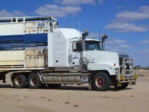 Prime Mover Mack Titan Truck Tibooburra Broken Hill Area Preview