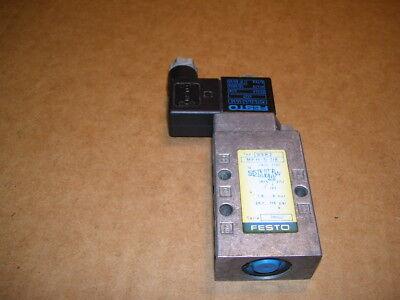 Festo Mfh-5-18 Solenoid Valve 24vacdc Coil P1886