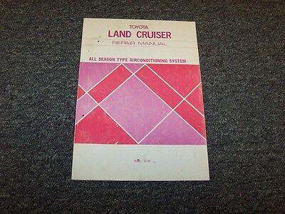 1980 1981 Toyota Land Cruiser Fj40 Fj43 Fj60 Bj40 Hj60 Ac System Service Manual