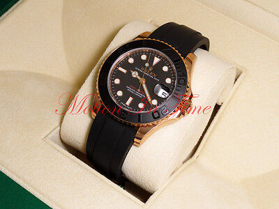 Rolex Yacht-Master Everose Gold 37mm Rose gold Black Cerachrom Bezel 268655