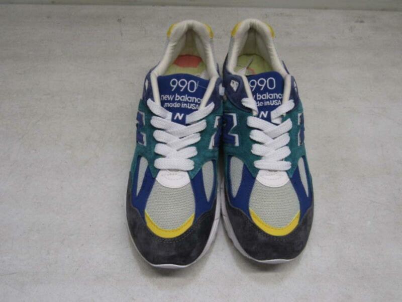 New Balance x Aime Leon Dore Men's US 9.5 990 V2 Sneakers Multi M990AL2
