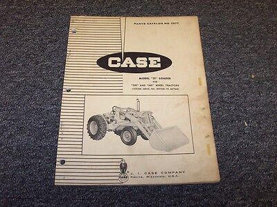 Case 31 Loader Original Factory Parts Catalog Manual For 530 540 Wheel Tractor