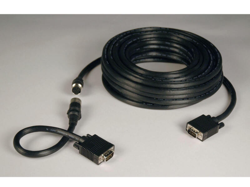 Tripp-lit-new-p503-100 _ Lite Vga Coax Monitor Easy Pull Cable   High