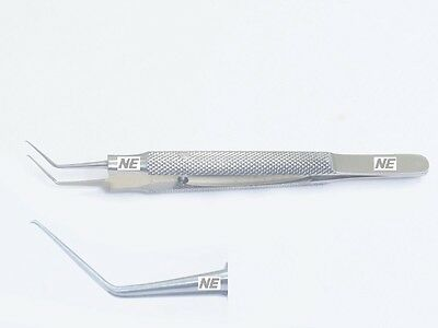 Ss Utrata Capsulorhexis Forceps Delicate Cystotome Shaped Tip Angled 12mm Long