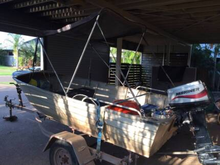 4.2m Tinny with 30hp Mariner Durack Palmerston Area Preview
