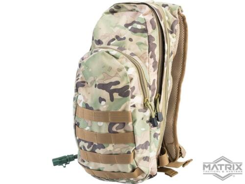 Matrix Field Day Pack Bag Backpack w/ 2.5L Hydration Bladder System Camo NEW