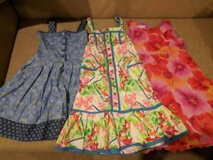3x lovely girl summer frocks size 8 - 11, great cond, $10 each Rochedale Brisbane South East Preview