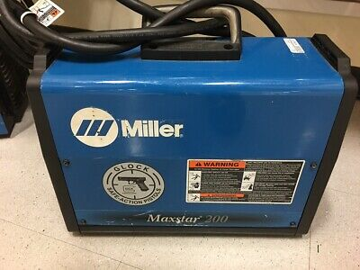 Miller Maxstar 200 Tig Welder Ml1045976