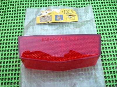 1968 AMC Rambler Ambassador NOS Left Rear SIDE MARKER Lamp LENS #3600815